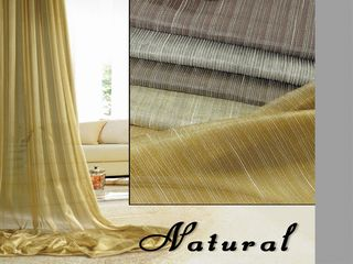 Flame Retardant Sheer Curtains (9806-104)