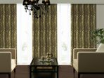 Inherently Flame Retardant 3D-Jacquard (yarn dye) Curtains A18